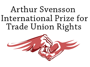 The Arthur Svensson's prize awarded to the independent trade unions of Kazakhstan