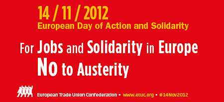 14 November: European day of action and solidarity - FNPR statement