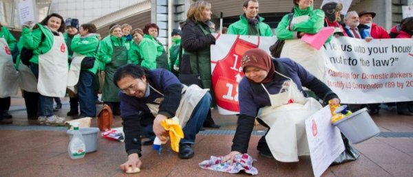 12 by 12 Campaign: Six Countries Grant Rights to Domestic Workers in 2012