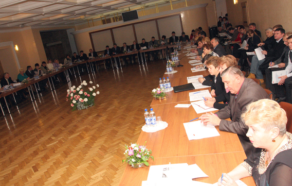 Trade unions and MNEs conference in Ukraine
